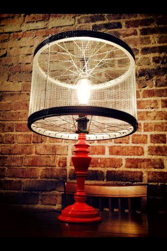 Lampe DIY vélo - astucesenligne.fr