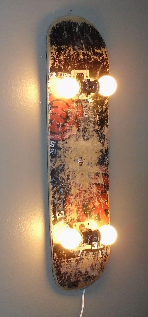 Lampe skateboard - astucesenligne.fr