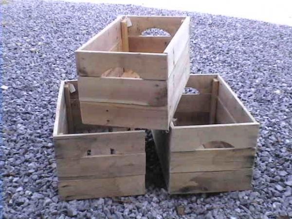 Caisse en bois de palettes - Astucesenligne.fr