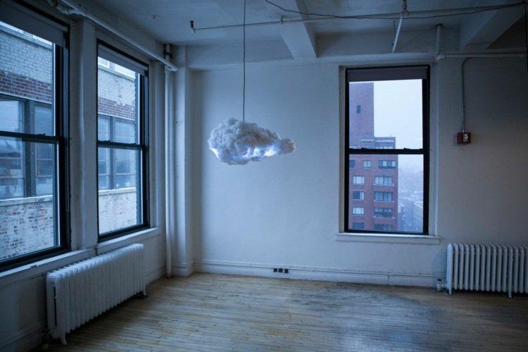 Lampe en nuage - astucesenligne.fr