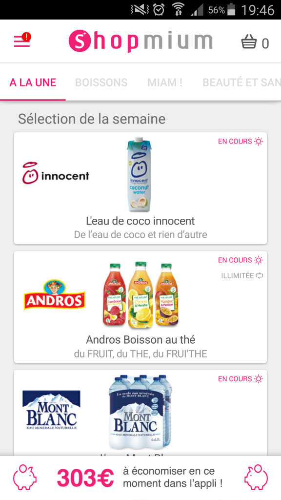 Shopmium l'application qui rembourse vos courses
