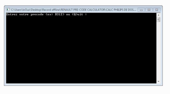 Code de s curit autoradio d 39 origine renault astuces en for Fenetre qui s ouvre pas
