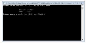 comment débloquer le code renault gratuitement