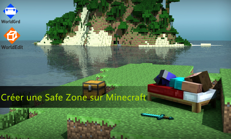 comment cr er une safe zone sur minecraft astuces en ligne. Black Bedroom Furniture Sets. Home Design Ideas