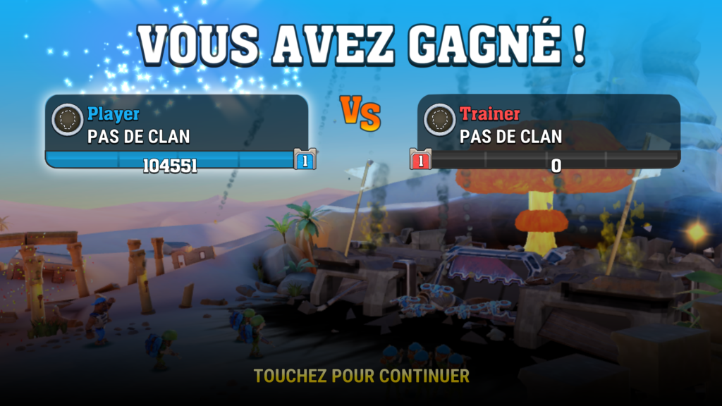 Mighty Battles en test sur google